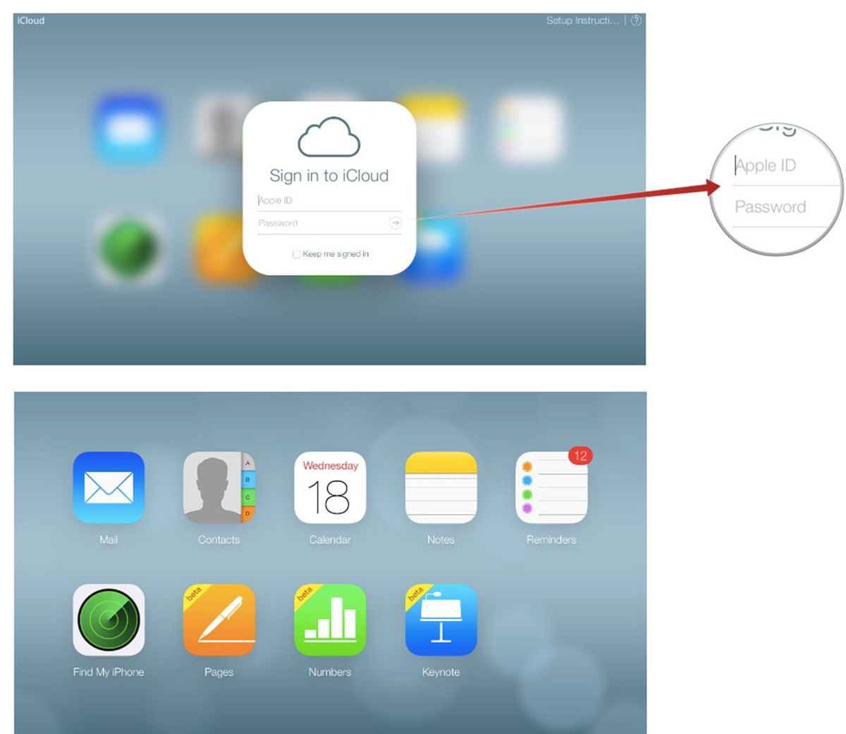 Accessing iCloud Email Login on the Web