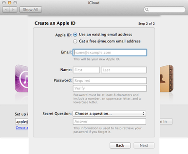 This Is The New Panel to Configure Our Apple ID and Manage The Storage of ICloud