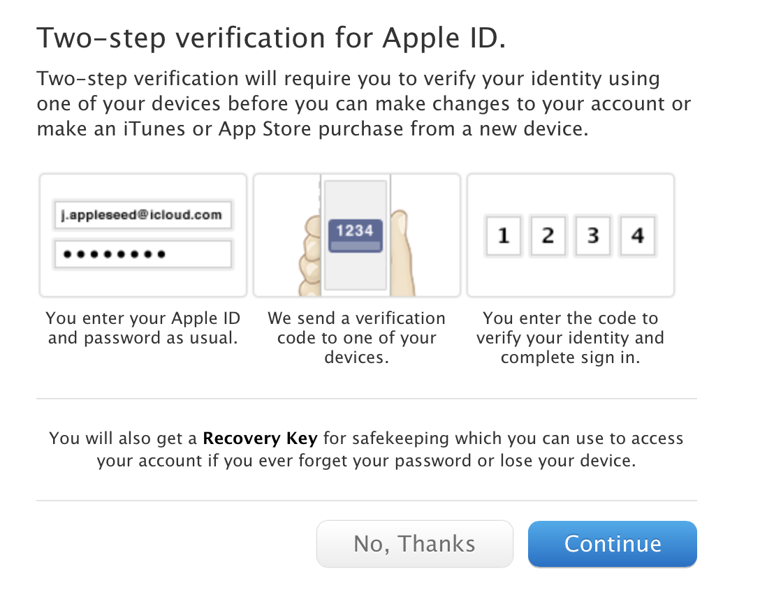 How to Get Two-Step Authentication for iCloud Email Login